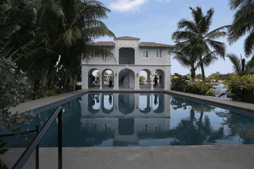 Miami, dom, który należał do Ala Capone /Getty Images