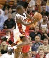 Miami Heat mogą być trzecią siłą w Konferencji Wschodniej /AFP