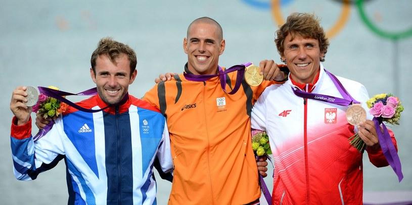 Miarczyński na igrzyskach olimpijskich w Londynie wywalczył brąz /AFP