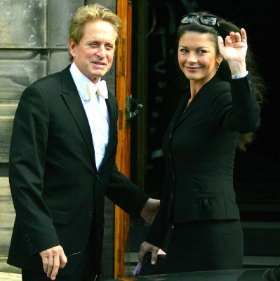 Michael Douglas i Catherine Zeta-Jones /AFP