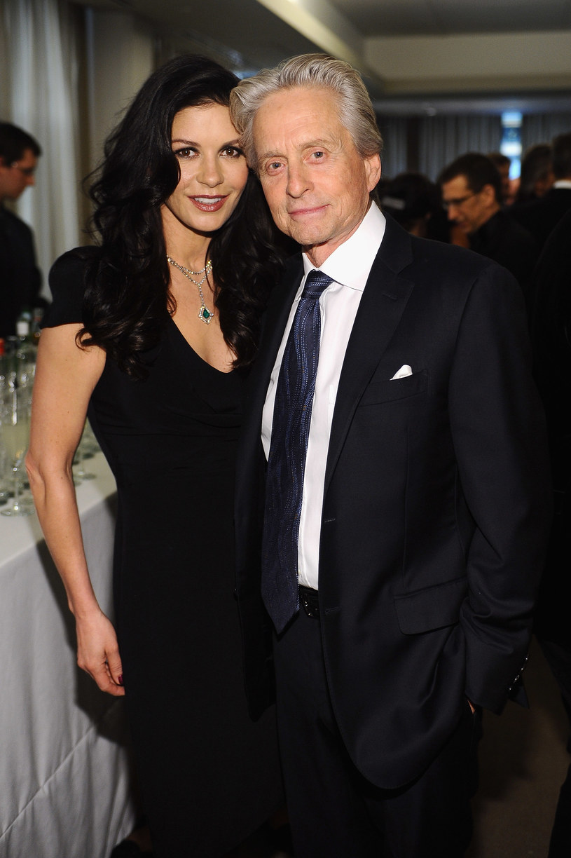 Michael Douglas i  Catherine Zeta-Jones /Getty Images