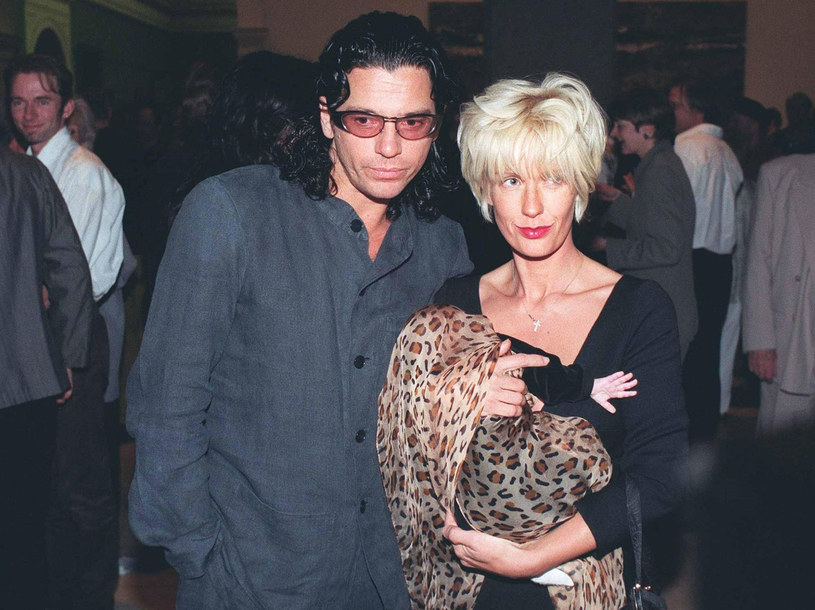 Michael Hutchence i Paula Yates wraz z córką /SYDNEY MORNING HERALD / Rex Features /East News