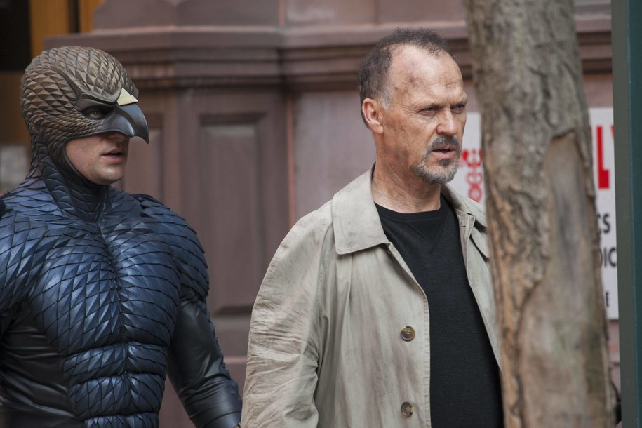 "Michael Keaton na planie filmu ""Birdman"" /DPA/Media Punch /Unimedia   /PAP"