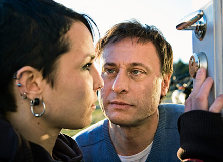 Michael Nyqvist (Mikael Blomkvist) i Noomi Rapace (Lisbeth Salander) w filmie Nielsa Ardena Opleva /materiały dystrybutora