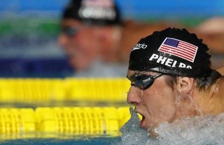 Michael Phelps /AFP