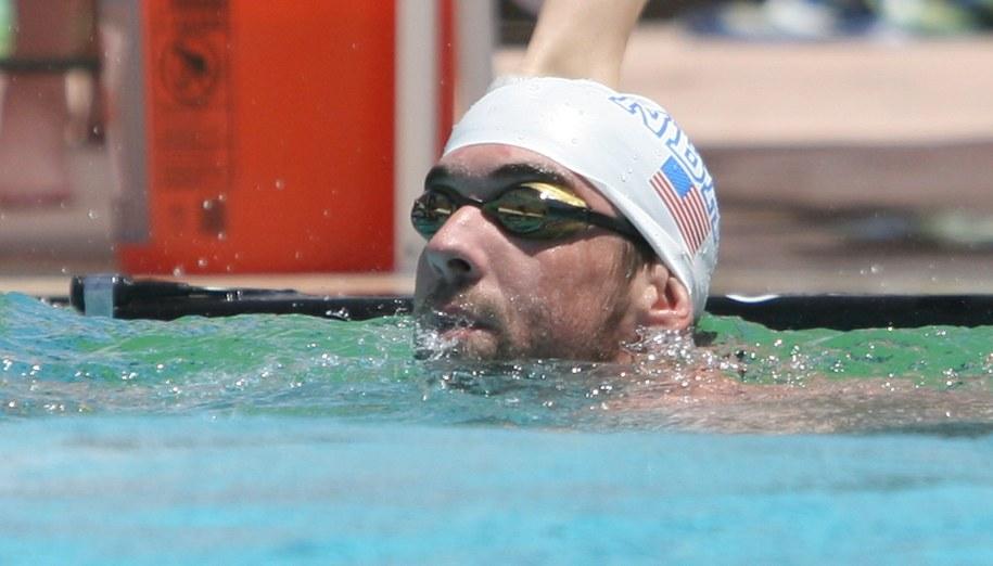 Michael Phelps /PAP/EPA/ROY DABNER  /PAP/EPA