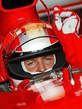 Michael Schumacher - niedawno to on był królem deszczu /poboczem.pl