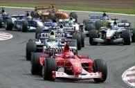 Michael Schumacher prowadził na Catalunyi od startu do mety