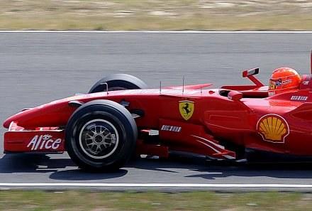 Michael Schumacher /AFP
