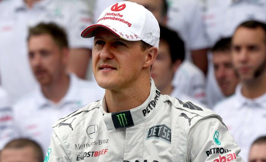 Michael Schumacher /PAP/DPA/Jens Buettner /PAP/EPA