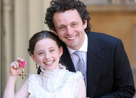 Michael Sheen i Lily /Getty Images/Flash Press Media