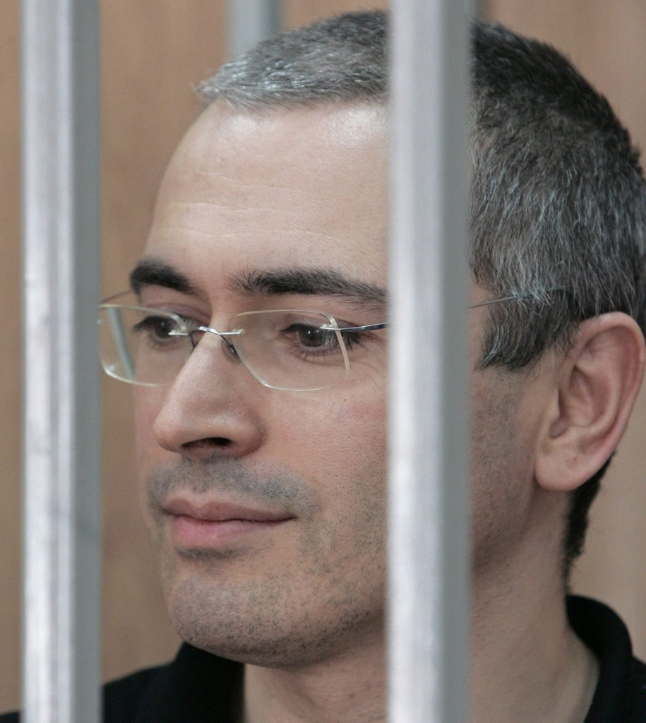 Michaił Chodorkowski jeszcze za kratkami /SERGEI CHIRIKOV /PAP/EPA