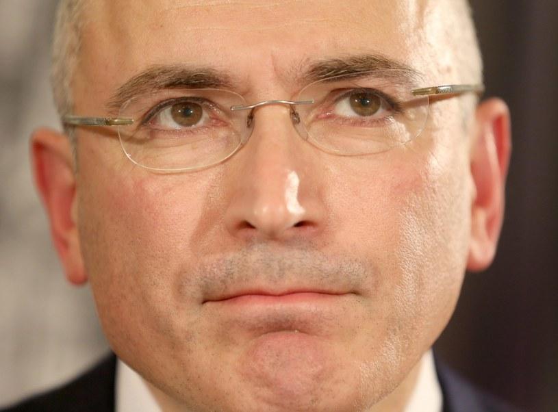 Michaił Chodorkowski. /Kay Nietfeld  /PAP/EPA