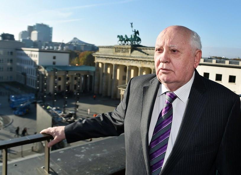 Michaił Gorbaczow w Berlinie /AFP
