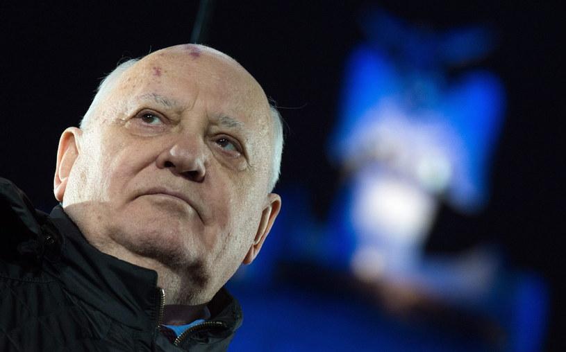 Michaił Gorbaczow /PAP/EPA