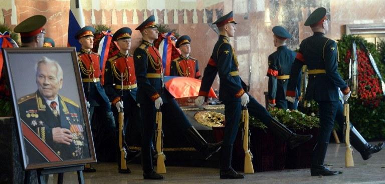 Michaiła Kałasznikowa /AFP
