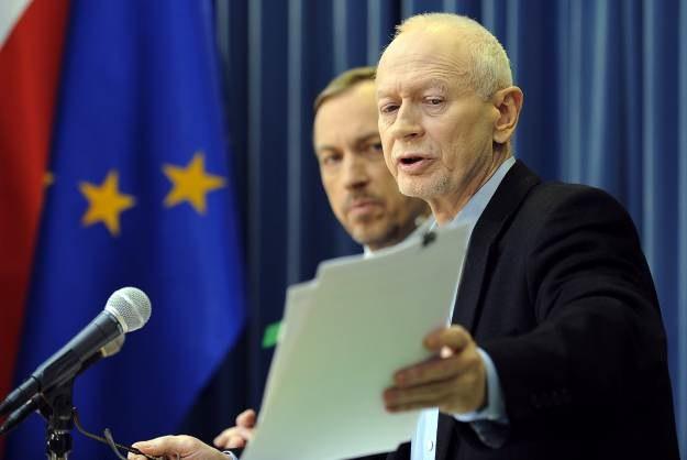 Michał Boni, minister cyfryzacji, o jego istnieniu większość internautów dowiedziała się dzięki ACTA /AFP