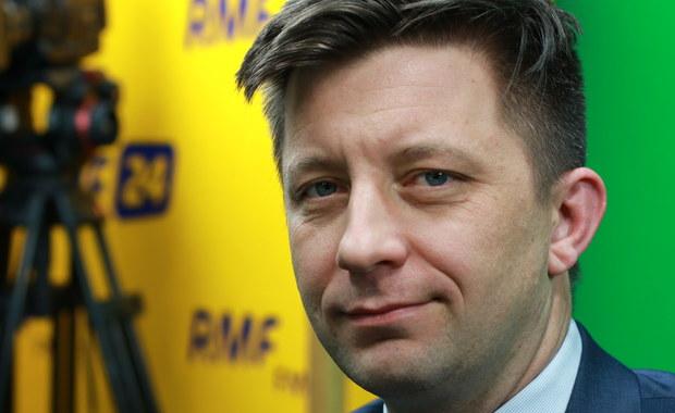 Michał Dworczyk: Misiewicz jest pracownikiem MON, ale o ile wiem, nie pełni funkcji rzecznika