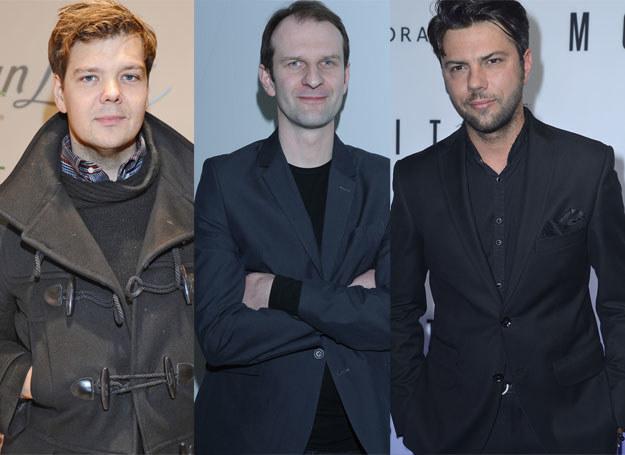 Michał Figurski, Rafał Rutkowski i Olivier Janiak /MWMedia