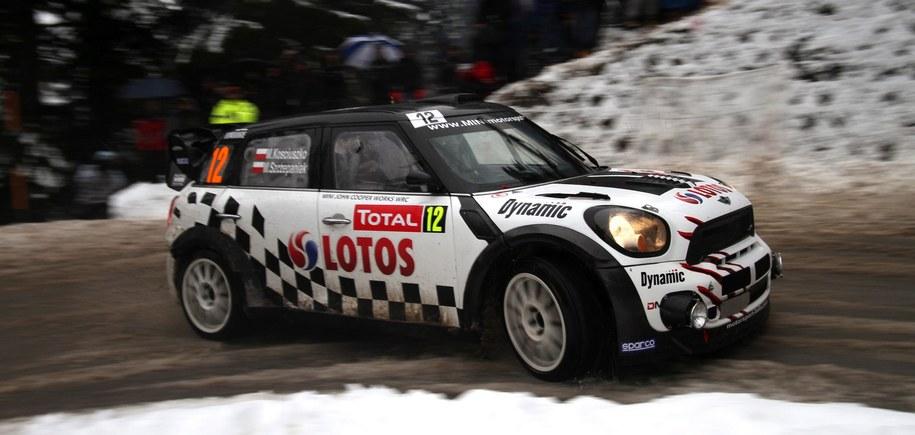 Michał Kościuszko na trasie Rajdu Monte Carlo /Reporter Images /PAP/EPA