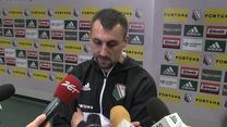Michał Kucharczyk po meczu Legia - Szeriff 1-1. Wideo