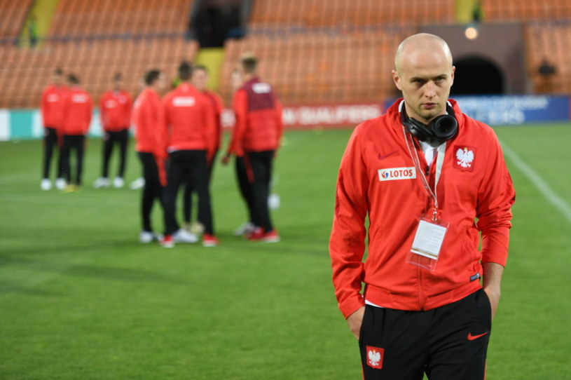 Michał Pazdan był jedynym przedstawicielem Ekstraklasy w wyjściowym składzie naszej ekipy w Erywaniu /Bartłomiej Zborowski /PAP