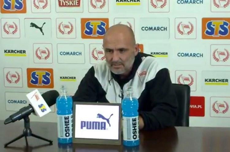 Michał Probierz, trener Cracovii /Internet