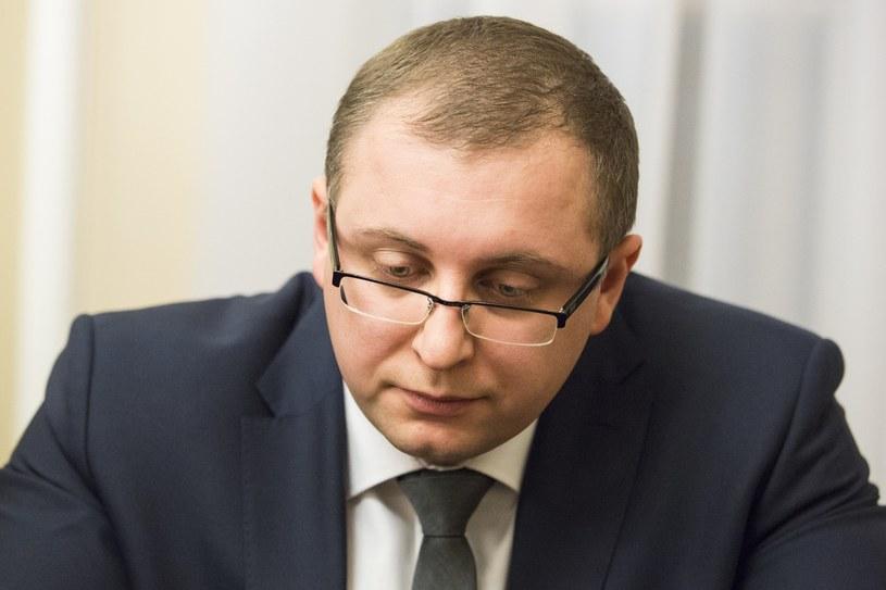 Michał Warciński /Andrzej Hulimka/Reporter /Reporter