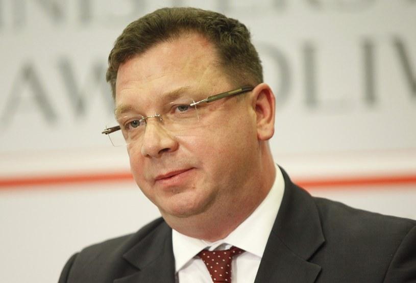 Michał Wójcik zapowiedział, że rejestr przestępców seksualnych zacznie działać od października /Stefan Maszewski /Reporter