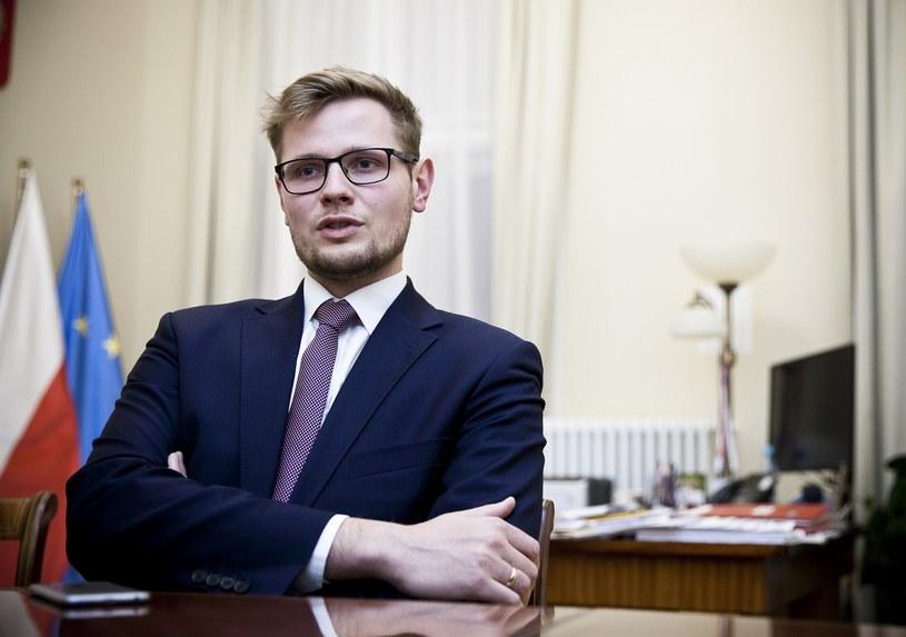 Michał Woś /Wojtek Gorski /Agencja FORUM
