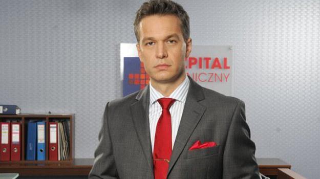 Michał Żebrowski jako prof. Andrzej Falkowicz /www.nadobre.tvp.pl/