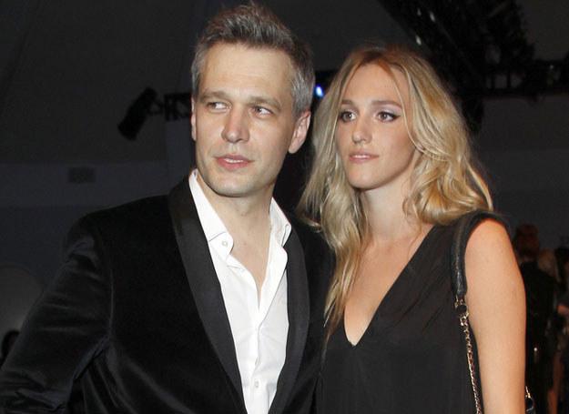 Michał Żebrowski z żoną /©123RF/PICSEL