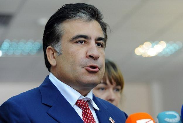 Micheil Saakaszwili /AFP