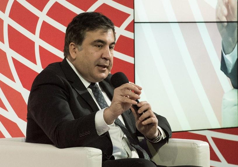 Micheil Saakaszwili /Jacek Dominski/REPORTER /East News