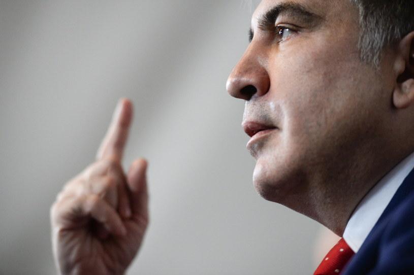Micheil Saakaszwili /Jacek Turczyk /PAP