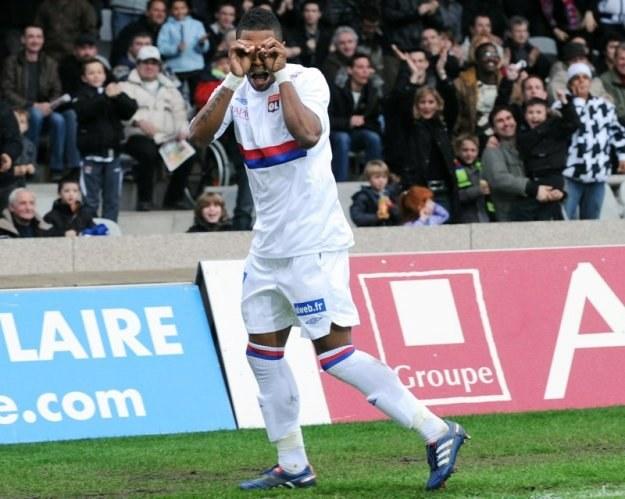Michel Bastos - lewy pomocnik Olympique Lyon /AFP