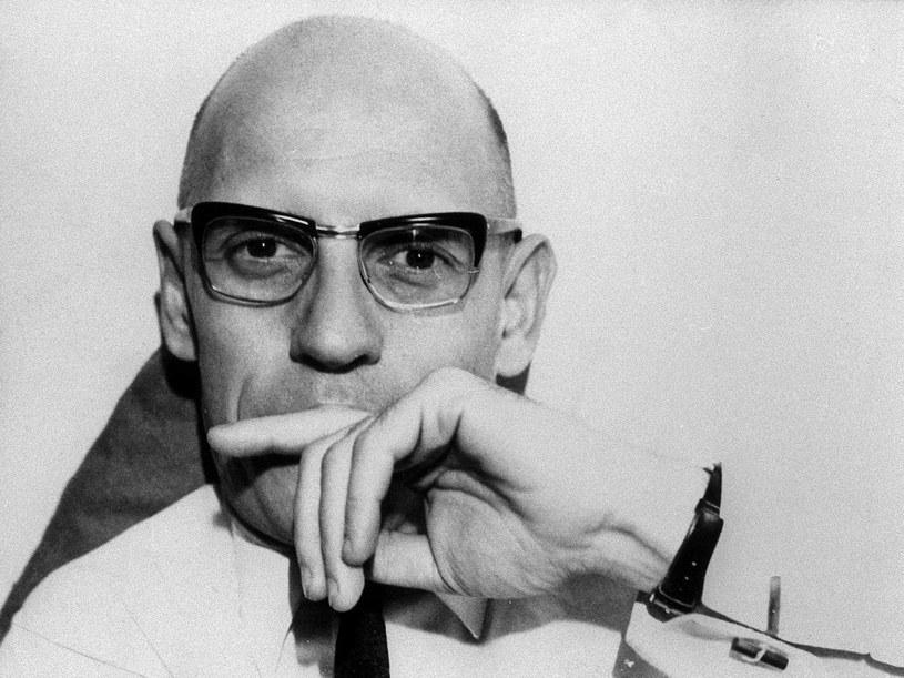 Michel Foucault (1926 - 1984), fot. OZKOK/SIPA /East News