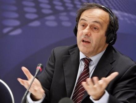 Michel Platini /AFP
