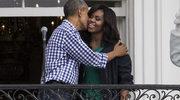 """Michelle i Barack Obama zaskoczyli swoim tańcem z postaciami ze """"Star Wars""""!"""