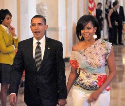 Michelle i Barack Obama /Getty Images/Flash Press Media