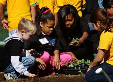 Michelle Obama jest najpopularniejszą Pierwszą Damą w historii Stanów Zjednoczonych /Getty Images/Flash Press Media
