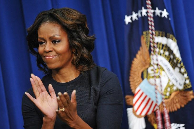 Michelle Obama, małżonka amerykańskiego prezydenta. /AFP