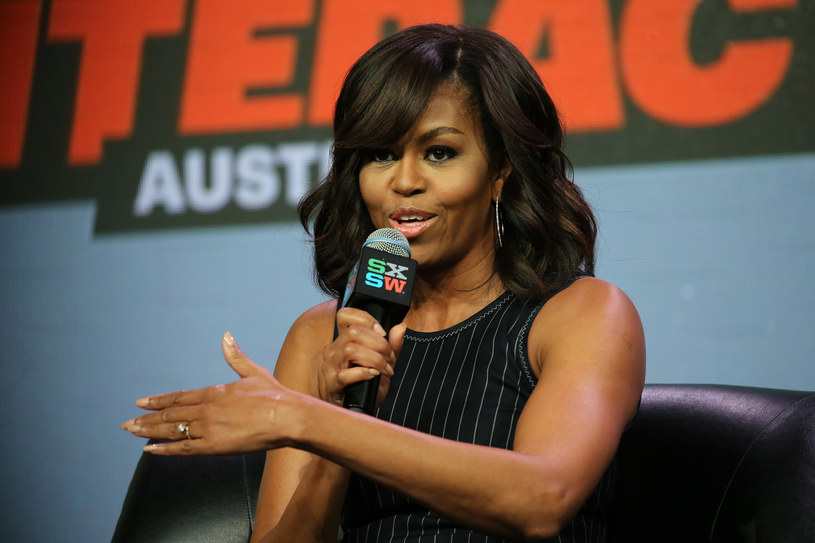 Michelle Obama z pasją atakuje Trumpa za stosunek do kobiet /AFP