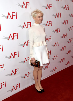 Michelle Williams na gali AFI