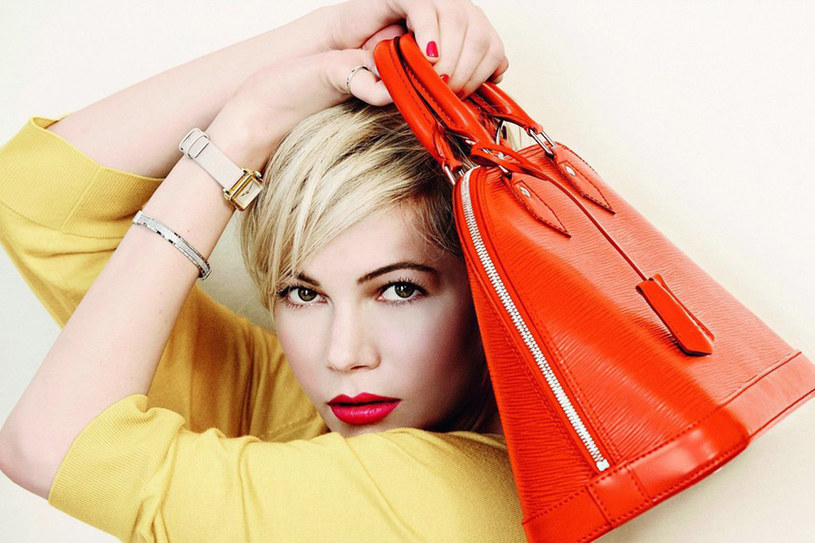 Michelle Williams reklamuje torebki Luis Vouitton'a /East News