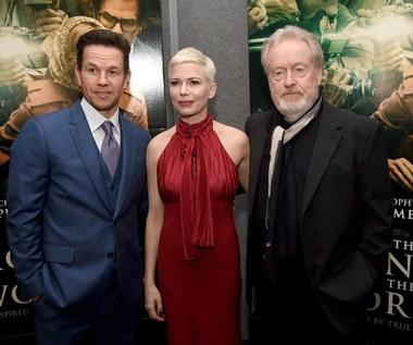 Michelle Williams: Wystarczyło, że usłyszałam słowa... Ridley Scott