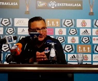 Michniewicz po 0-2 z Wisłą Kraków
