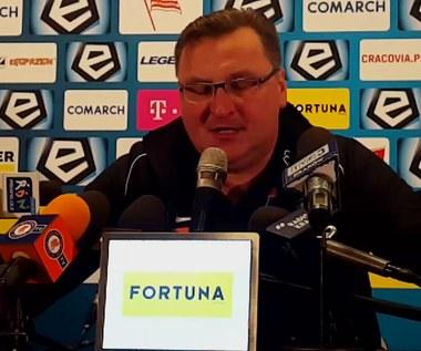 Michniewicz po 3-1 z Cracovią. Wideo