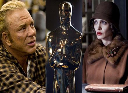 Mickey Rourke i Angelina Jolie - najlepsi aktorzy 2008 roku? /materiały dystrybutora