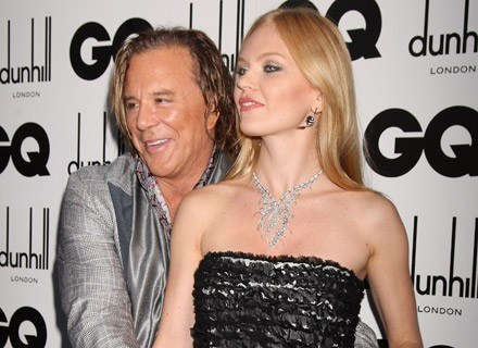 Mickey Rourke znowu się zakochał... /Getty Images/Flash Press Media